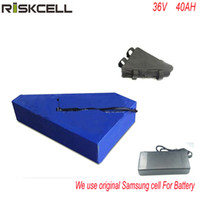 электрическая батарея 36V 40ah ebike мотоцикла литиевая батарея 36V 1000w Bafang треугольник литиевая батарея с использованием Samsung клеток