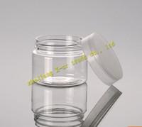 Envío gratis 50pcs / lot Capacidad 50 g de crema de plástico de alta calidad recipientes cosméticos, envases cosméticos, frascos cosméticos