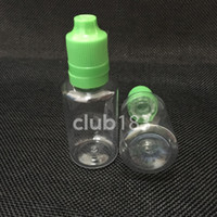 E 증기 CIG 액체에 대해서는 무료 배송 바늘 병 30ML은 PET 플라스틱 스포이드 병 탬퍼 아이 증거 모자 팁