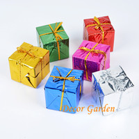 2017 Hot Sell! 8cm DIY Mixed Color Christmas Gift Bag Cute S...