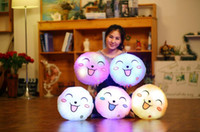 33cm Creative Light Up LED and music Smile Face Stuffed Plus...