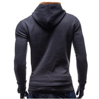 2017 New Male Brand Casual Color Stitching Hoodies Sweatshir...