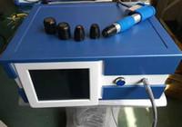 2018 Vente chaude !!! Traitement de la douleur plus puissant Electri Shockwave Therapy Equipment Équipement Bullet Barrel Shock Wave Therapy EU en franchise d'impôt Machine