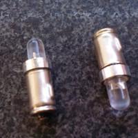 울트라 밝기 BA7S 7mm 라운드 1 LED 12V T2 LED 자동 전구 악기 라이트 자동차 인테리어 램프 100pcs