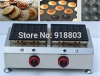 50pcs Commercial Use Non- stick LPG Gas Poffertjes Mini Dutch...