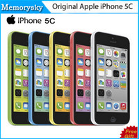 Original Refurbished Unlocked Apple iPhone 5C Cell phones 16...