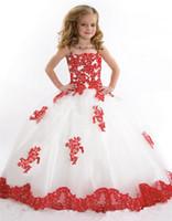 Бального платье Нового дизайна Чистой Baby Girl Birthday Party Рождество принцесса платье девушка дети Бальные платья девушка цветок
