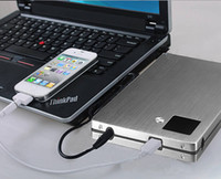 LCD-Laptop USB-Universalenergien-Bank 20000mah Bateria Externa tragbare Ladegerät Mobilpowerbank Carregador De Bateria Portatil