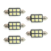 Wholesale CANBUS 20pcs lot 36 39mm SJ 5050 6SMD 6LED Festoon...