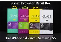 Luxo Universal Protetor de Tela de Vidro Temperado Protetor de Guarda Guarda de Varejo Pacote Caixa de Embalagem Caixas para o Telefone Celular Acessórios 1000 pcs