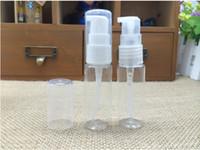 10 ml voyage rechargeable bricolage pet bouteille d'animal familier clair pompe en plastique pompe lotion bouteille crème bouteille LIVRAISON GRATUITE