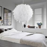 Calda lampada a sospensione moderna romantica lampada a sospensione Dreamlike applique da comodino Lamparas E27 110-240V spedizione gratuita