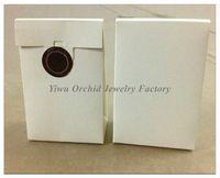 Commercio all'ingrosso 50 pezzi squisito mini sacchetto di carta bianca di alta qualità confezione regalo 9 * 6 * 3 cm adatto pandora scatola di gioielli charms perline anelli sacchetto di imballaggio