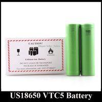 Top-Qualität US18650 VTC4 VTC5 VTC6 Lithium-Batterie 18650 Batterieklon 2600mAh 3.7V Schnellladung lang anhaltender trockener Akku