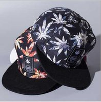 Diseñador Ajustable Snapback Flat Brimmed Hats Toronto Gorras de béisbol  Strapback Hip Hop Algodón Primavera Verano c298670fc53
