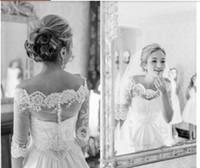 Frete grátis Por Atacado Tentador Elegante Acessórios Do Casamento Jaqueta Nupcial Wraps Belero Lace Applique branco Casamento bolero Jacket