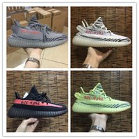 2017 New Color Semi Frozen Yellow Boost 350 v2 Beluga 2. 0 Ru...