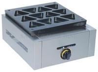 LPG Gaz Ticari Üçgen Waffle Ekmek Baker Maker Demir Makinesi; Dorayaki Kek MakinesiMakine