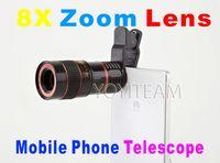 мобильный телефон универсальный телескоп 8X зум-объектив черного цвета для смартфонов iphone samsung