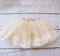 Nuevos niños tutú falda de las niñas de encaje de tul falda pitti recién nacido falda A6079