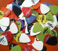 Enstrüman PUAS 30 adet / grup Bas Gitar Seçtikleri Alice Çok Düzgün ABS Özel Akustik Elektrik Guitarra Plectrums Aksesuarları