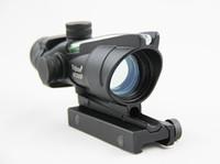 أسلوب ACOG 1X32 نطاق النقطة الخضراء مع الألياف الخضراء (الألياف الحقيقية) riflescope