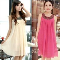 Maternity dresses Maternity Casual Dress Pregnant women clot...