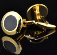 Мода круглой формы запонки французский запонки мужские запонки запонки для мужчин День отцов подарки для мужчин ювелирные изделия свадебные запонки