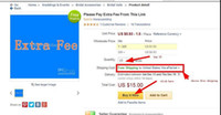 Lien spécial pour les clients des magasins Honeywedding pour payer des frais supplémentaires de la commande urbaine / demande spéciale