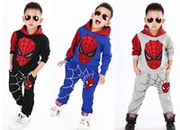 Novelty Kids Boys Clothing Sets Child Sports Suits Cartoon C...