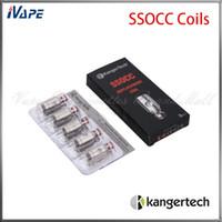 Kanger SSOCC Bobinas Cabeça 100% Original Kangertech Nebox Kit Subvod Kit Bobinas de Substituição 0.5ohm 1.2ohm 1.5ohm Ni200 0.15ohm Disponível