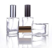 2017 neue 30 ml heißer verkauf 3 farbe transparent parfüm glas spray leere flasche display flasche