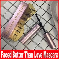 Faced Makeup Volume Mascara Rose gold Better Than love Mascara High Quality long lasting Cool Black Better Than Sex Mascara
