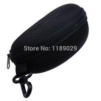 도매 - 블랙 패션 하드 지퍼 가방 프로텍터 케이스 스토리지 박스 홀더 안경 선글라스 안경 아이 안경 안경에 대한 도매