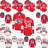 Mens Womens Youth Florida Panthers 6 Alex Petrovic 52 Macken...