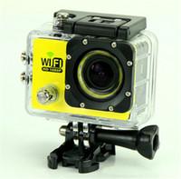 1080P 풀 HD 와이파이 액션 카메라 원본 SJ6000 스포츠 방수 카메라 170 ° 미니 캠코더 헬멧 카메라 2 'LCD 12MP H.264 자동차 DVR