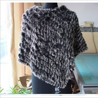 Autumn Winter new arrive Ladies' Genuine Real Knitted R...