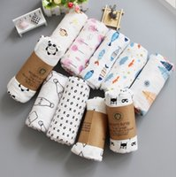 32 Designs Newborn Muslin swaddle Blanket 100% Organic cotto...