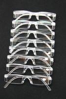 Niesprzeciwnych mężczyzn kobiet czytający okulary, przezroczyste plastikowe bezbarwne presbiopia czytnik kieszonkowy, + RX Okulary optyczne dla osób starzejących ludzi, Senior
