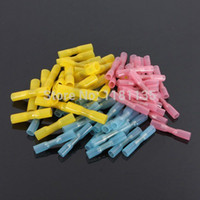 Free Shipping 25pcs Heat Shrink Shrinkable Wire Crimp Terminals BUTT Waterproof Connectors Tube : motorcycle wiring connectors - yogabreezes.com