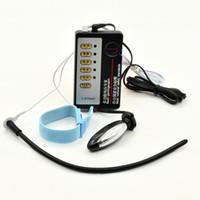 E-Stim Device Hommes Anneau de ceinture Anal Plug Silicone Sondes Électro Shock Plug Torpedo Plug Therapy jouets
