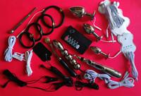 Kit di elettroshock Gear Electric Shock Kit Electro Pulse BDSM giocattoli per adulti
