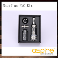 Aspire Nautilus Kit de réservoir 5 ml Système de réservoir BVC Nautilus à débit d'air réglable Un remplacement supplémentaire