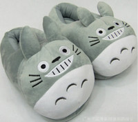 My Neighbor Totoro Plush Shoes Soft Winter Indoor Slippers F...