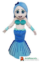 100% real photos Lovely Mermaid mascot costume party dress F...