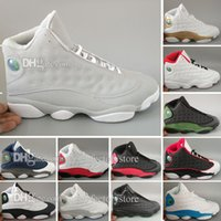 High Quality Cheap New Retro 13 Bred Chicago Flints Men Wome...