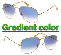 New Designer Gradient Sunglasses Mens Womens Sun glasses Uni...