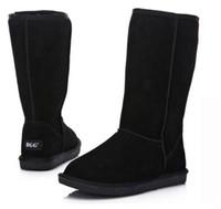 2015 هدية عيد الميلاد عالية الجودة bgg المرأة الأحذية النسائية القامة الأحذية التمهيد الثلوج التمهيد الشتاء الأحذية مع شهادة حقيبة الغبار الولايات المتحدة Size5--13