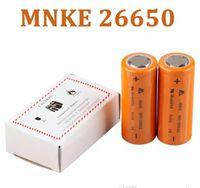 MNKE IMR 26650 Bateria MH46698 LIMN Bateria Recarregável 3500 mah Alta Dreno Bateria para 26650 Manhattan Nemesis mecânica mods