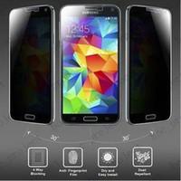 아이폰 6 6 플러스 아이폰 5S 5C 5 5S 4 4S 삼성 노트 4 참고 3 s5 s4 s3 소매 패키지 100pcs에 대 한 안티 스파이 개인 정보 보호 화면 보호 필름